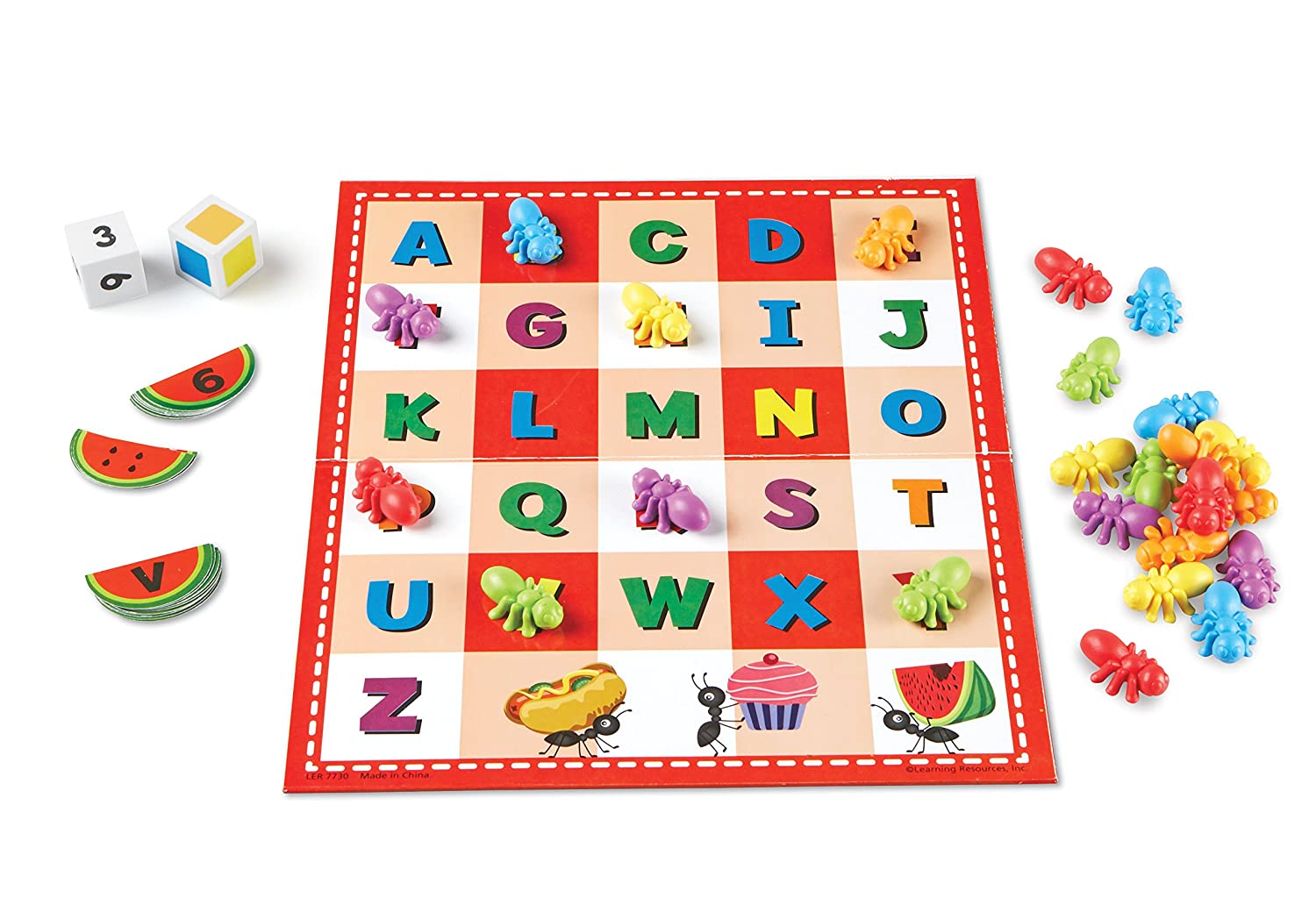 Learning Resources ABC and 123 Picnic Activity Set LER7730