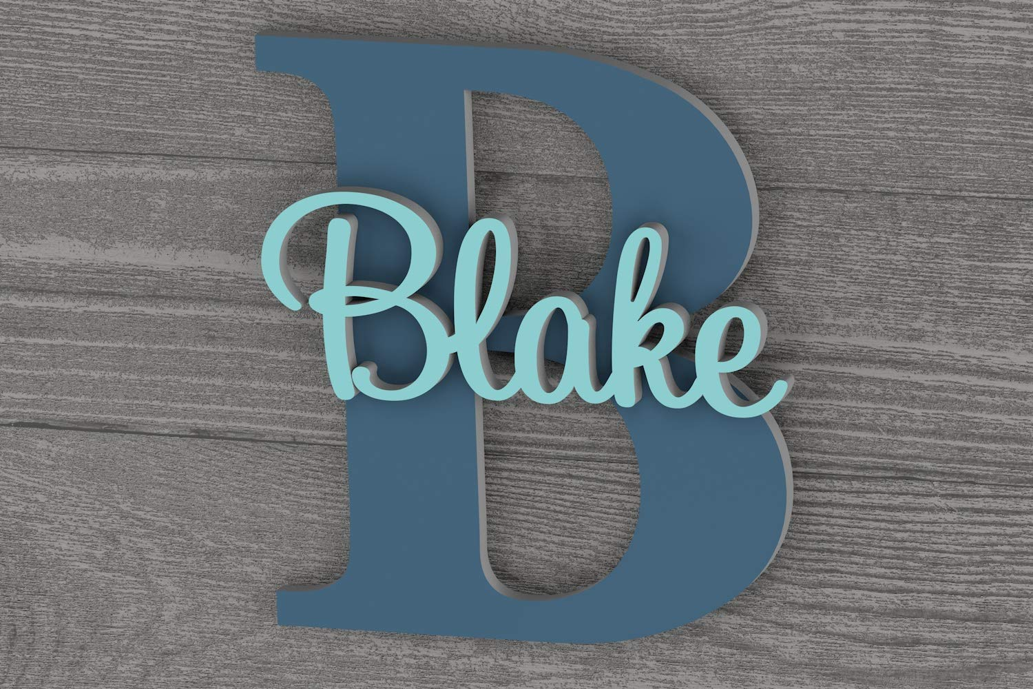Personalized Name Sign for Wall Childrens Room Decor