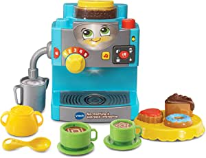 VTech – 601005 – Ma cafetera Expresso Interactive: Amazon.es ...