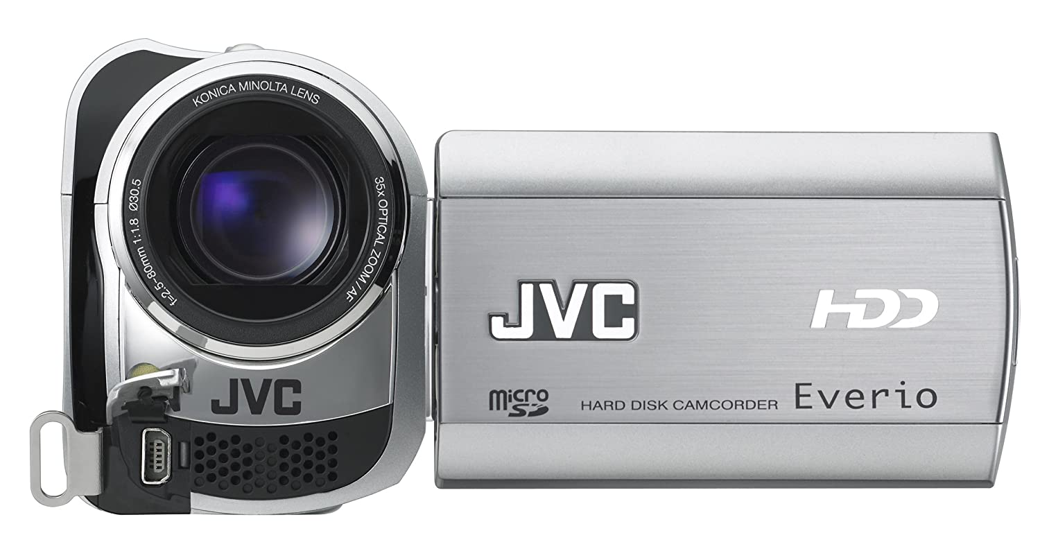 Amazon.com : JVC Everio GZ-MG330 30 GB Hard Disk Drive Camcorder with 35x  Optical Zoom (Blue) (Discontinued by Manufacturer) : Hd Camcorder Jvc :  Camera & ...