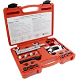 ABN Bubble Flare Tool & Double Flaring Kit – Tubing Bender Flare Tool & Pipe Cutter (1/8in to 5/8in / 3-16mm)