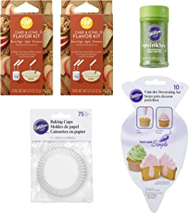 Apple Pie-Flavored Cupcake Baking and Decorating Set, 4-Piece
