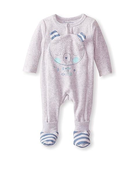 Sucre DOrge-BabyProducts-Mixto-Pijama para bebé blanco blanco Talla:0 meses: Amazon.es: Ropa y accesorios