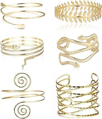 boho cuff bracelet gold snake bracelet arm cuff gold upper arm bracelet Snake cuff bracelet snake arm cuff upper arm cuff open cuff..
