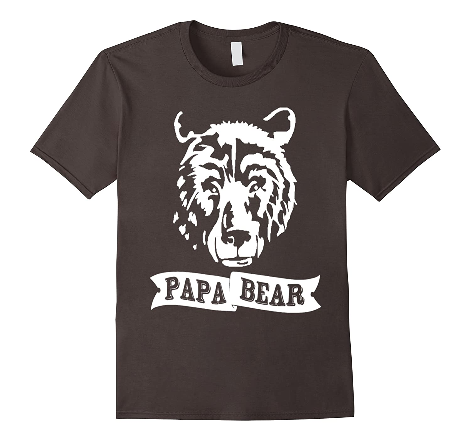 papa bear mama bear gay pride usa flag lgbt t shirts-CD