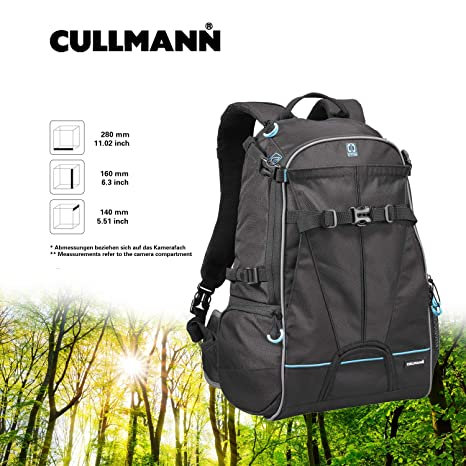 Cullmann 99440 - Mochila para cámara DSLR, Negro: Amazon.es ...