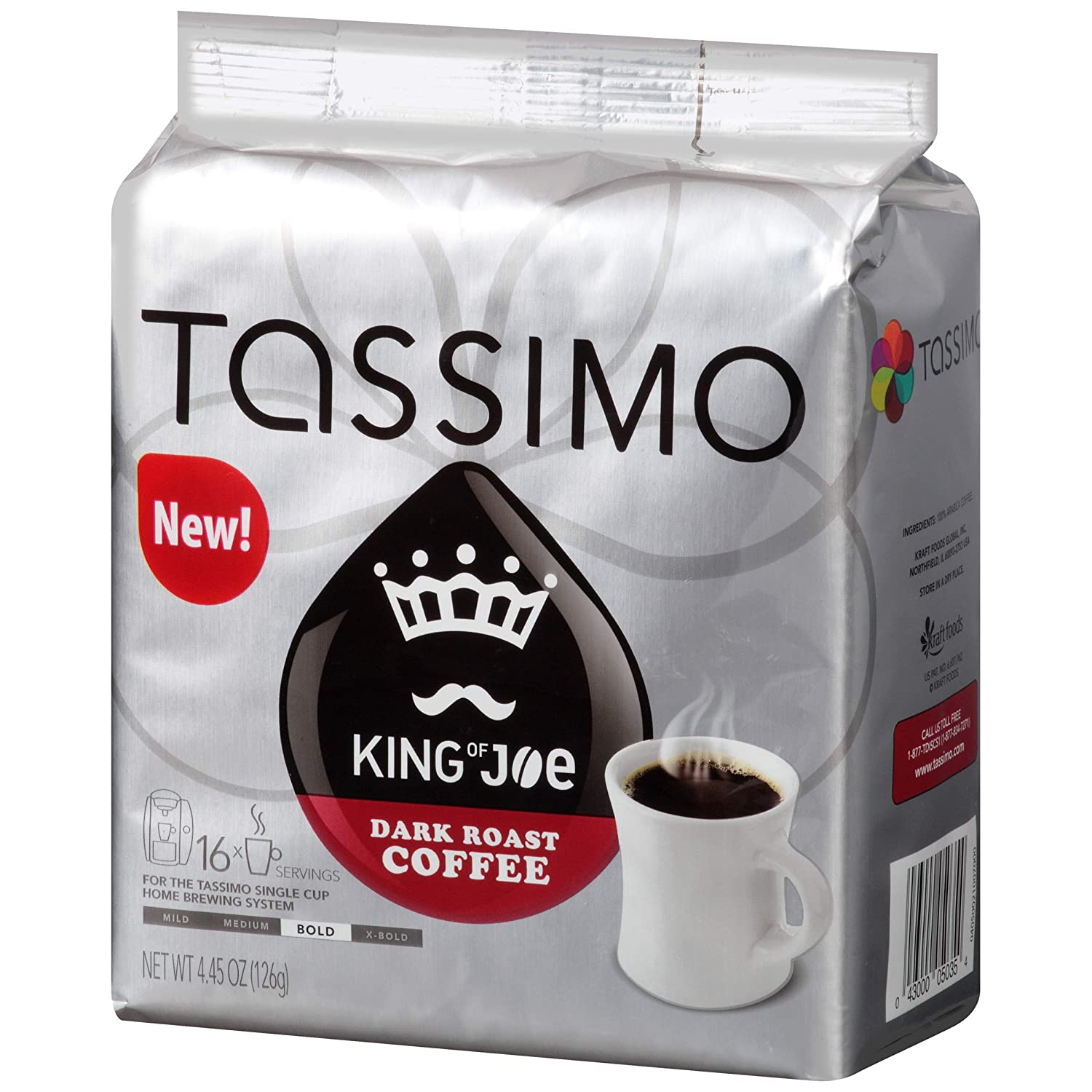 King of Joe Dark Roast Coffee: Amazon.com: Grocery & Gourmet ...
