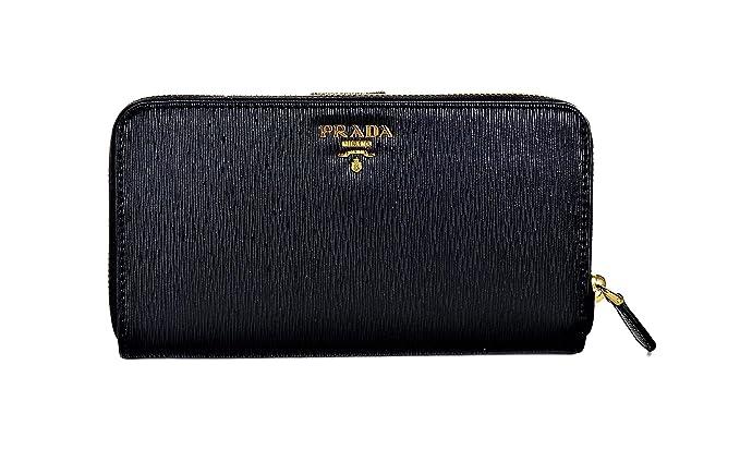 772ec2535990 Prada Womens 1ML348 2EZZ Vitello Move Wallet Nero (Black): Amazon.co.uk:  Clothing