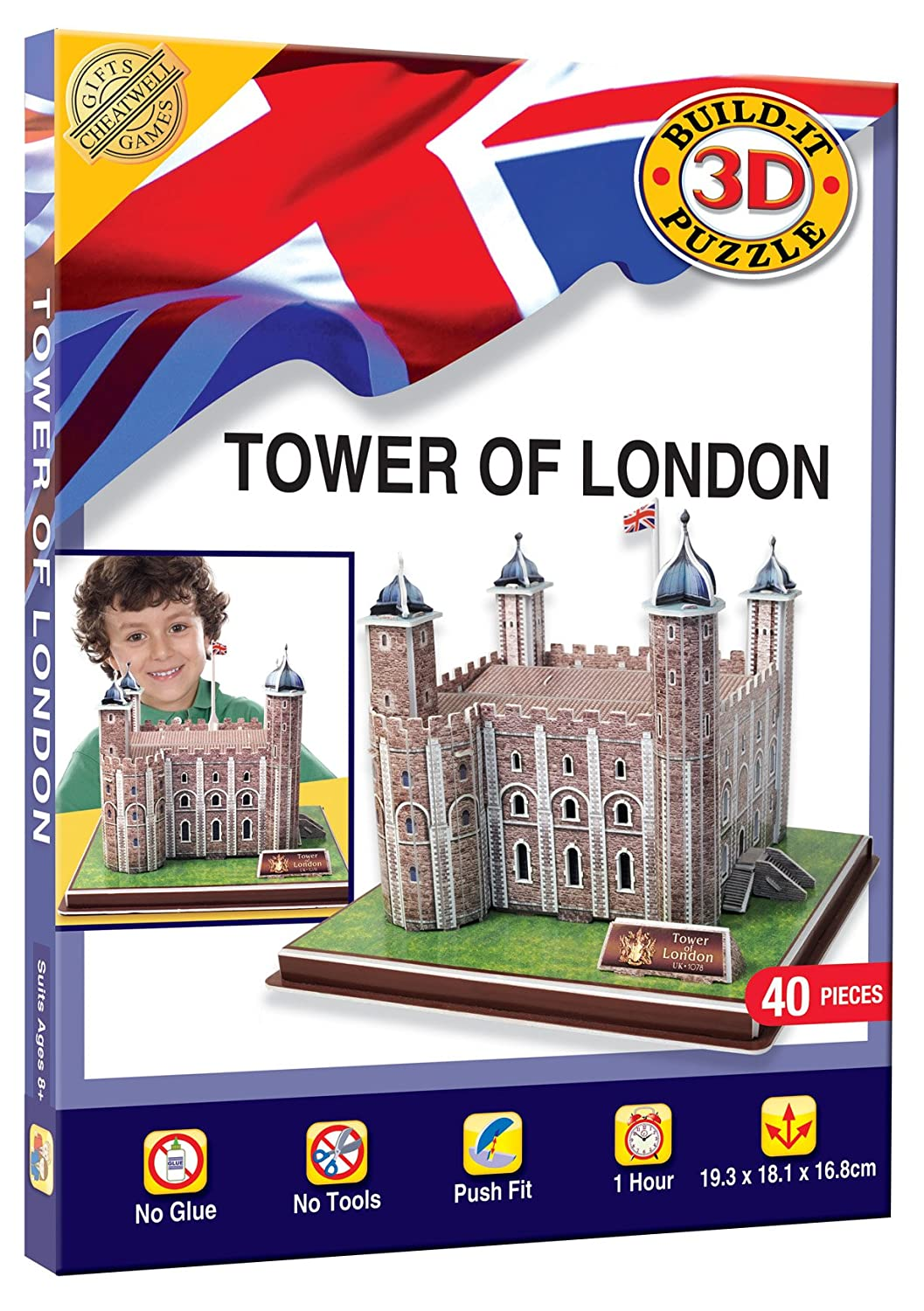 3D TOWER OF LONDON 2262 By Best Price Square
