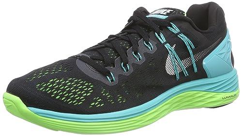 best loved c63b7 35f55 Nike Lunareclipse 5, Zapatillas de Entrenamiento para Hombre, Negro  (Schwarz/Helles Retro/Blitz-Limone/weiß), 43 EU: Amazon.es: Zapatos y  complementos