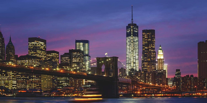 Artland Qualit/ä Tsbilder | Glasbild Deko Glas Bilder 60 X 30 Cm Skyline  New York ...