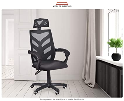 Enjoyable Kepler Brooks Phoenix High Mesh Back Office Desk Chair Pabps2019 Chair Design Images Pabps2019Com