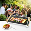 Elechomes LED Touch Control Electric Griddle