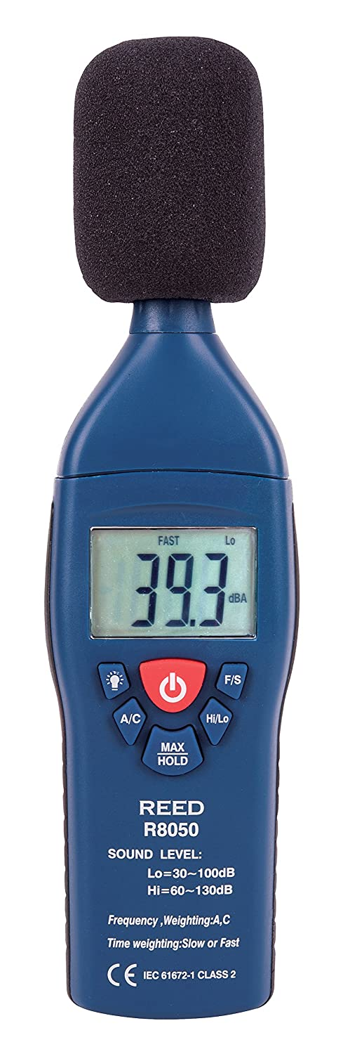 REED Instruments R8050 SLM digital sound meter