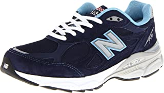 New Balance W990 Womens, Navy with White & Light Blue, 37