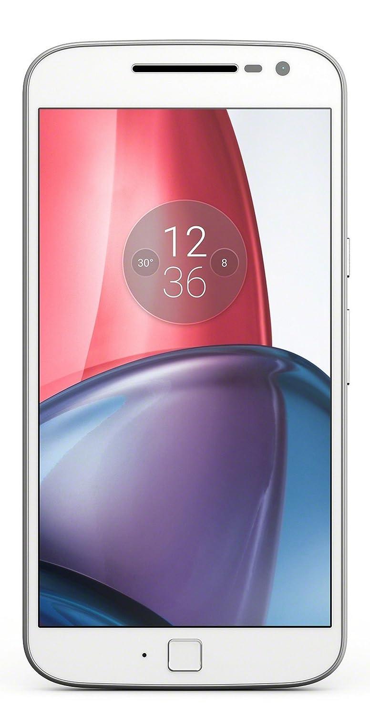 Moto G Plus, 4th Gen  White, 32  GB  Smartphones