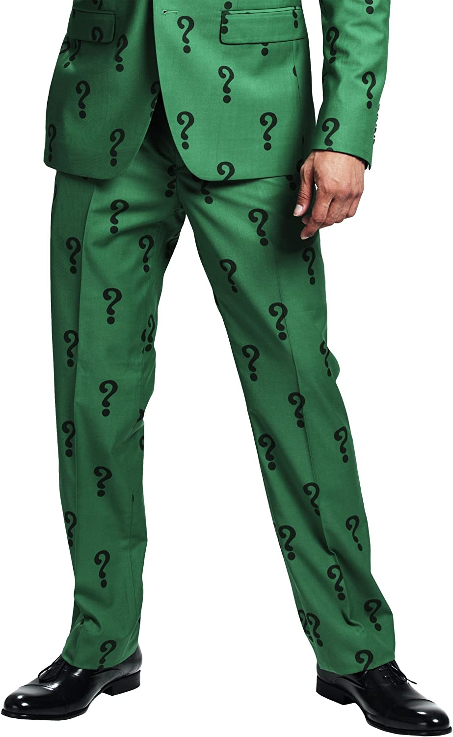 FUN The Riddler Suit Pants (Authentic) at  Men's Clothing store