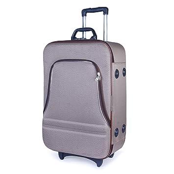 27b00d430c Bags Bazar Polyester 61Cms Light Brown Light Brown Softsided Strolly ...
