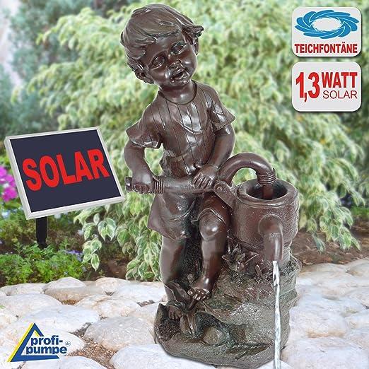 Jardín Brunnen Solar Solar Bomba Jardín Brunnen Solar Agua parte