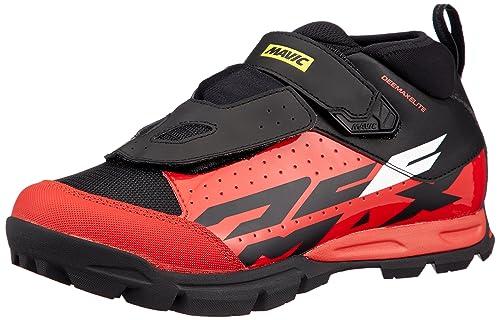 Mavic Deemax Elite - Zapatillas Hombre - Rojo/Negro 2019: Amazon.es: Zapatos y complementos