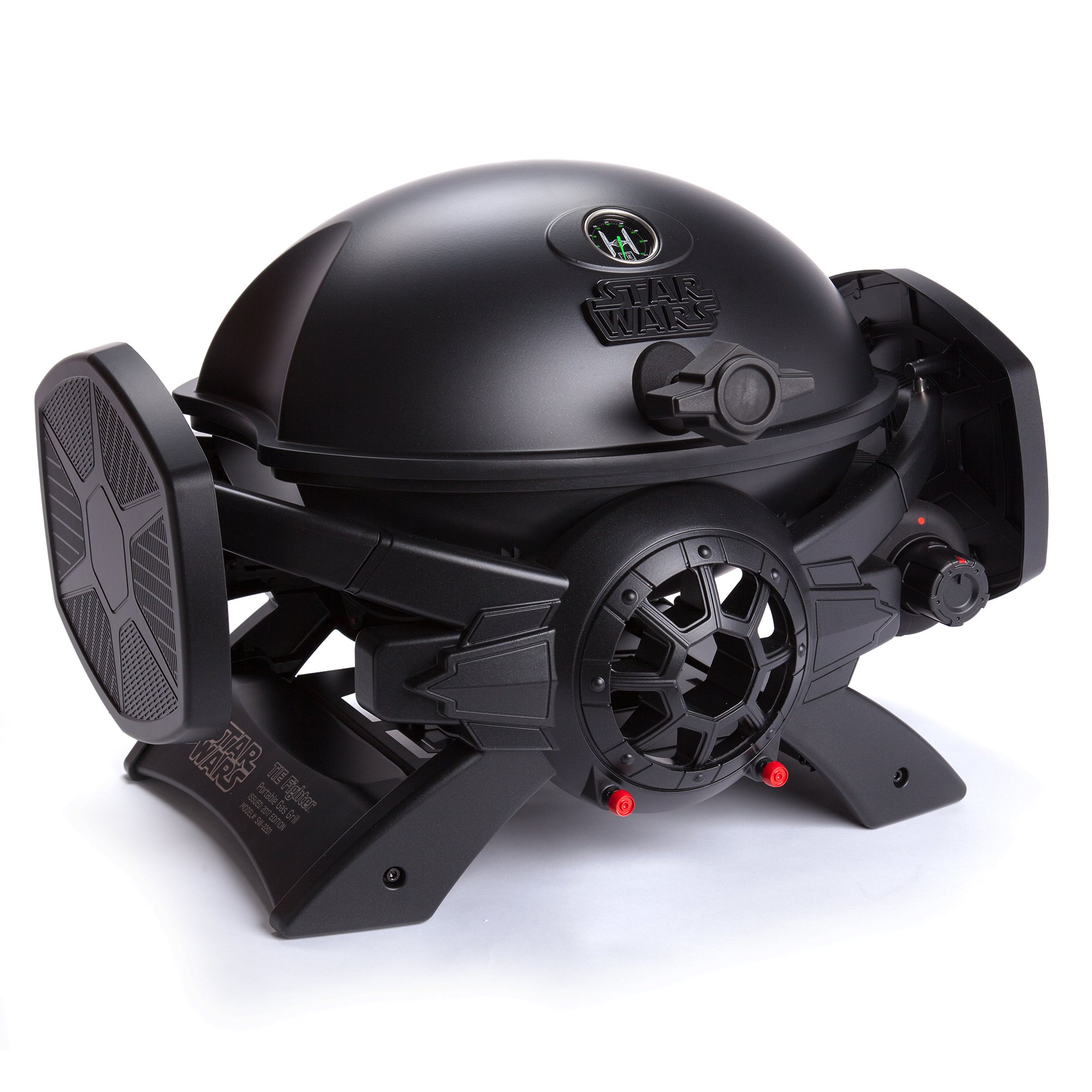 Broil Chef Star Wars TIE Fighter Gas Grill, Black, 37'' x 17.75'' x 15.75''