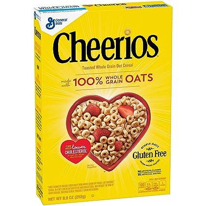 Cheerios toasted Conjunto Grano Avena Cereal, 8,9 oz: Amazon ...