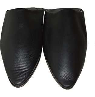 TISLIT Leder Schuhe Babouch Leder Hausschuhe marokkanische