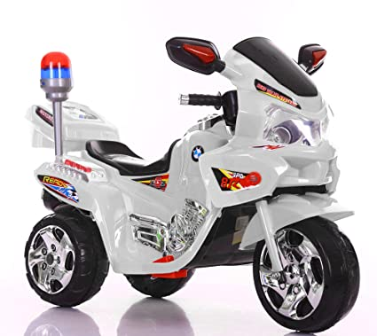 21cf8ad7a59 Buy Toy House Kid's 3-Wheel Captain's Bike Rechargeable Battery ...