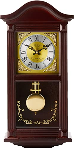 Bedford Clock Collection Small Wood Wall Clock