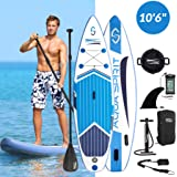 AQUA SPIRIT All Skill Levels Premium Inflatable Stand Up Paddle Board for Adults & Youth | Beginner & Intermediate iSUP…