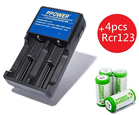 18650 Rechargeable Battery Charger Universal Smart 2 Dual Slots Li-ion US