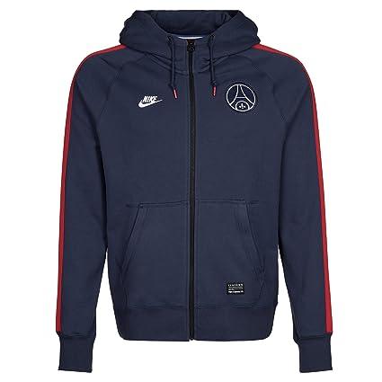 Nike Pullover Sportswear AW77 Paris Saint-Germain Covert Longsleeve - Sudadera para Hombre, Color