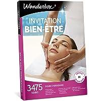 Wonderbox - Coffret cadeau femme INVITATION AU BIEN ETRE – 3475 soins du visage, gommage aux agrumes, beautés des mains, accès au spa pour 1 personne