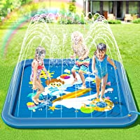 Peradix Splash Pad,Tapete de Juegos de Agua 170CM