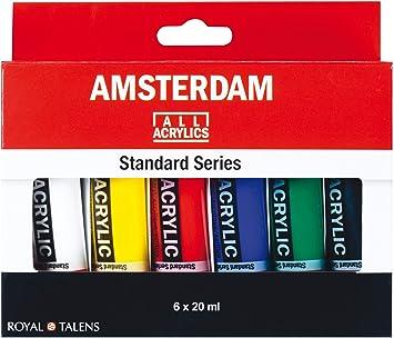 Royal Talens Peinture Acrylique Amsterdam Introset I 6x20ml Amazon