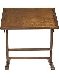 Studio Designs 36 X 24 Inch Vintage Drafting Table, Rustic Oak