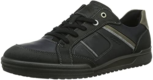 ECCO Fraser, Men's Derbys, Black (black/black/warm Grey),