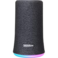 Bluetooth Speaker, Soundcore Flare Wireless Bluetooth Speaker by Anker, Portable Party Speaker with 360° Sound, Enhanced Bass & Ambient LED Light, IP67 Dustproof & Waterproof and 12-Hour Battery Life