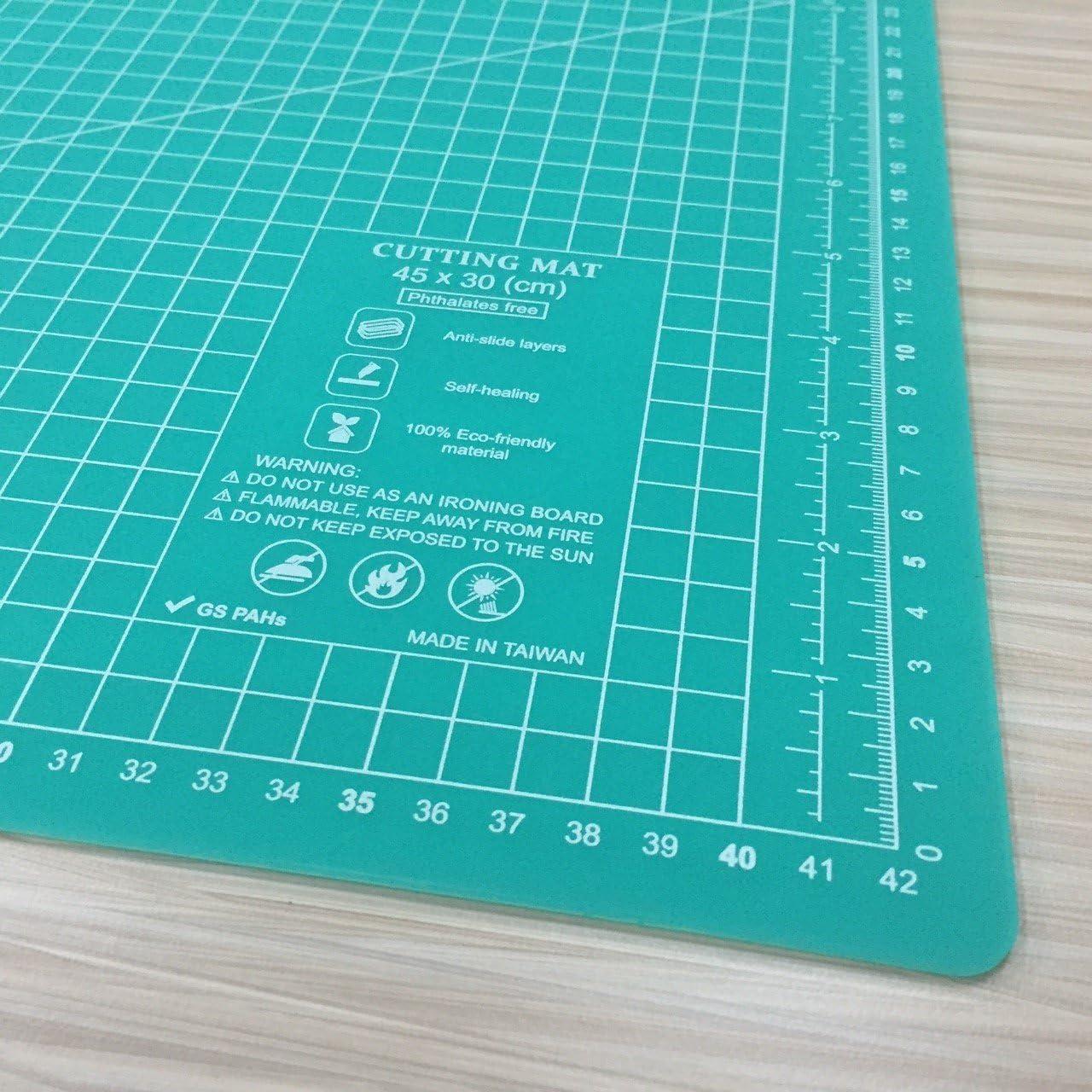 450 x 300 mm A3 Rosa Self Healing Eco Friendly Cutting Mat Alfombrillas De Corte Para Acolchar