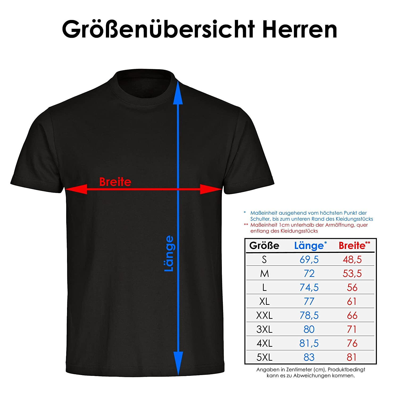 T-Shirt Crew Neck Short Sleeve Hilch Expert Black Men Size S to 5XL