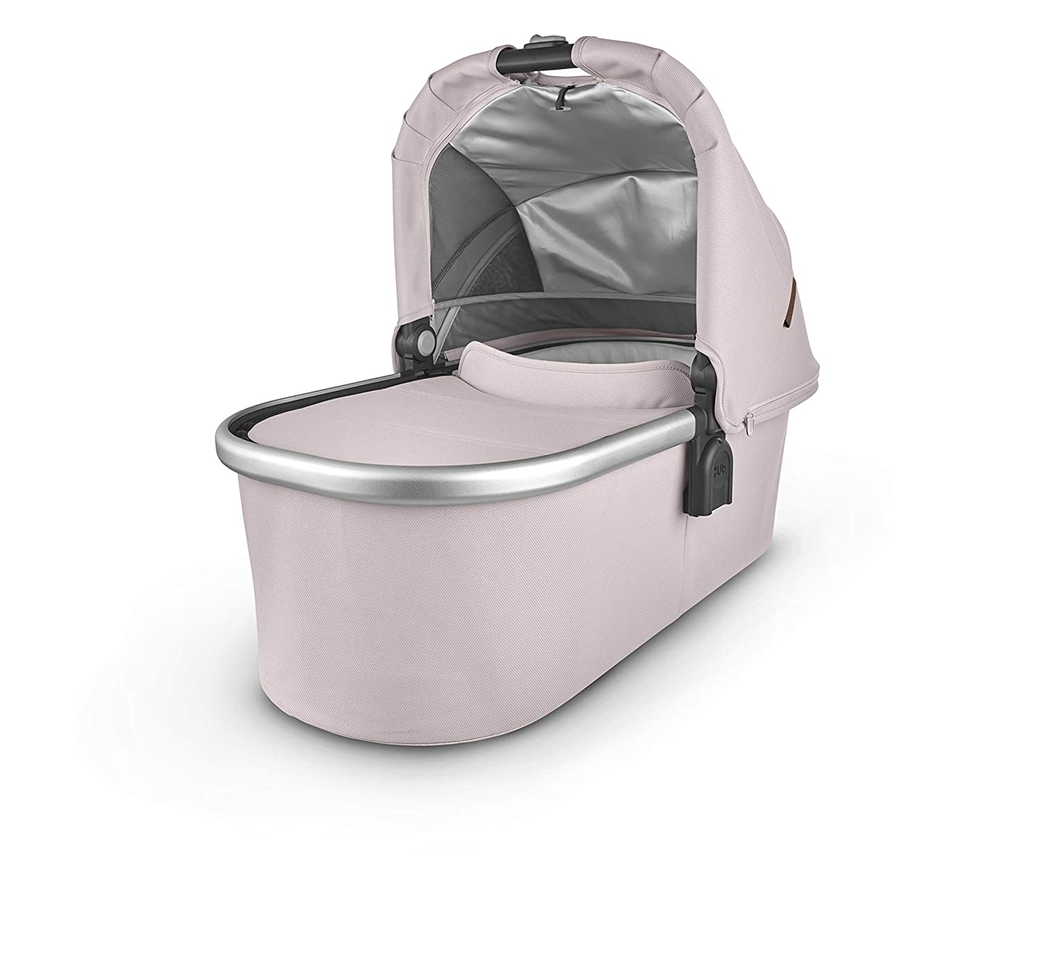 Dusty Pink//Silver//Saddle Leather Alice Bassinet