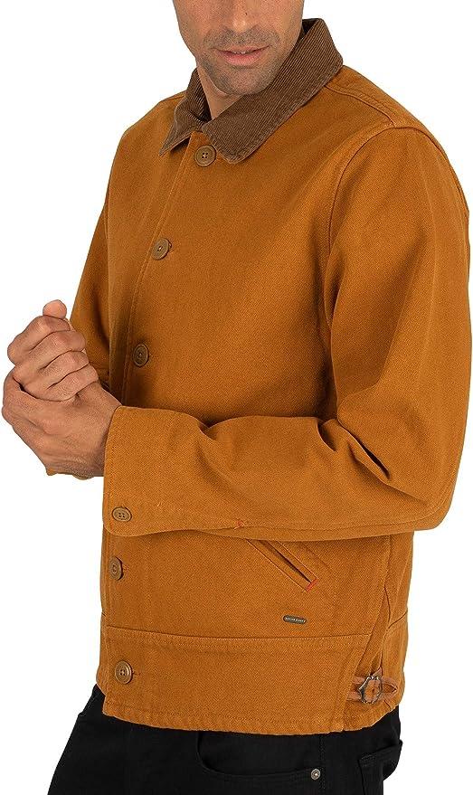 Brown Scotch /& Soda Mens Moleskin Jacket