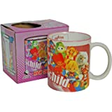 Pop Art Products Eighties Child Mug. Cool Retro 80's Trollz Care Bear Cabbage Patch