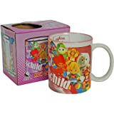 Eighties Child Mug. Cool Retro 80's Trollz Care Bear Cabbage Patch