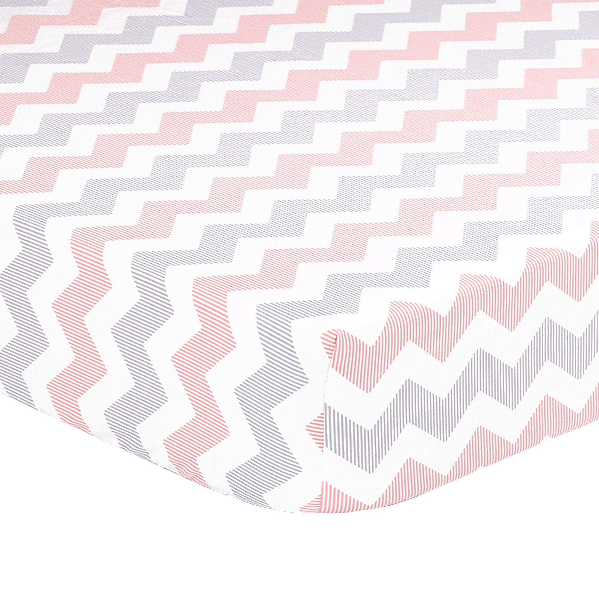 cribs coral designs fitted and sheet floral crib carousel teal large