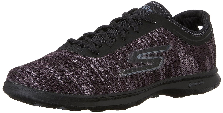 Skechers Damen Go Step Sneaker  38 EU|Schwarz
