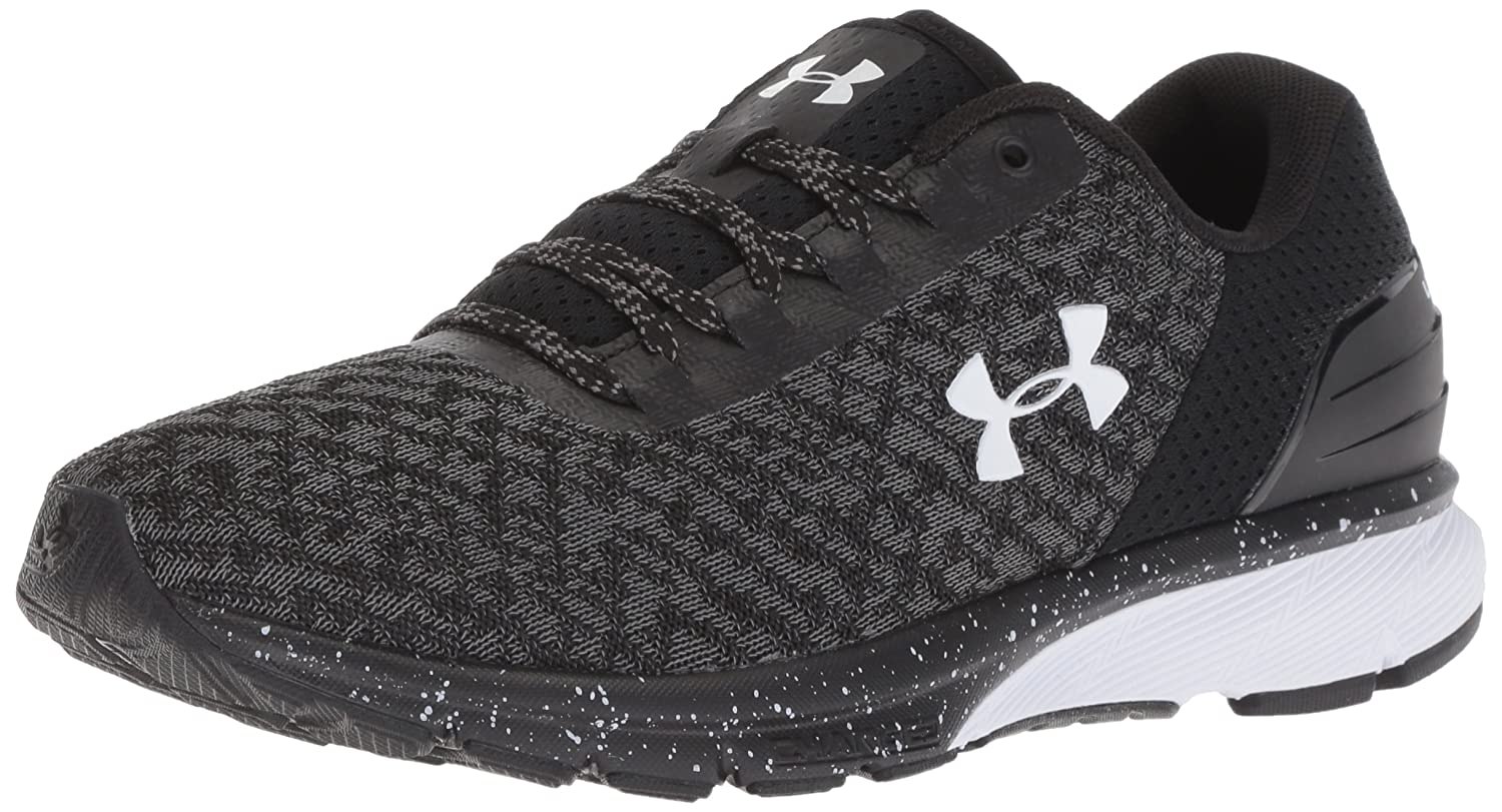 Under Armour Women's Charged Escape 2 Running Shoe B07CVRS1JP 8.5 M US|Black/White