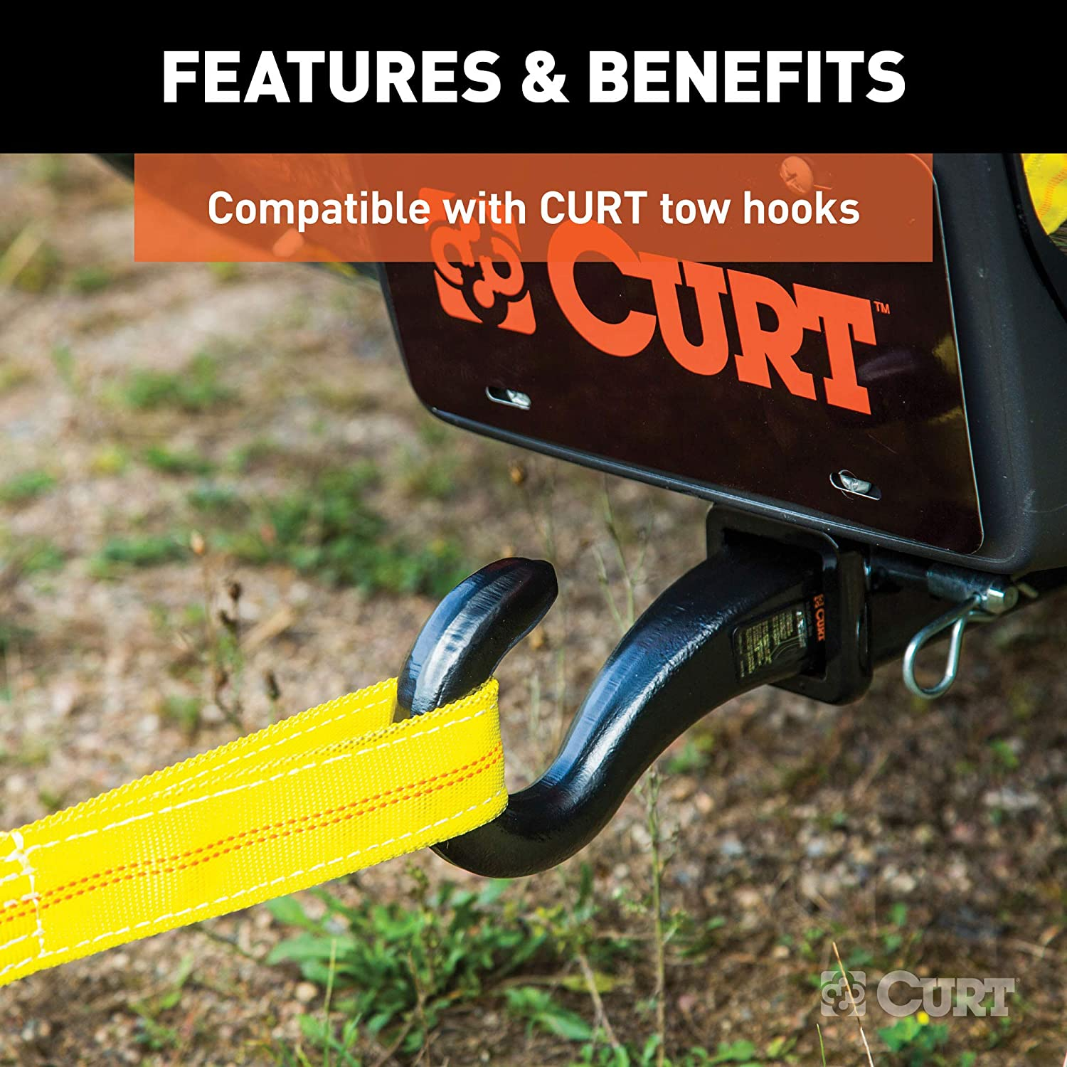 Curt Manufacturing 29451 2 Inch x 20 Foot Towing Wiring