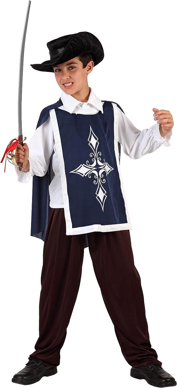 Atosa - Disfraz de espadachín para niño, talla 4 años ...