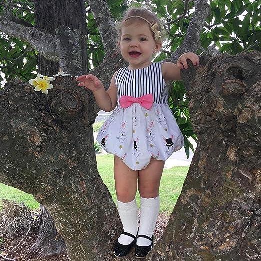 7a7d1e92173b Amazon.com  KONFA Toddler Infant Baby Girls Boys Cartoon Rabbits ...